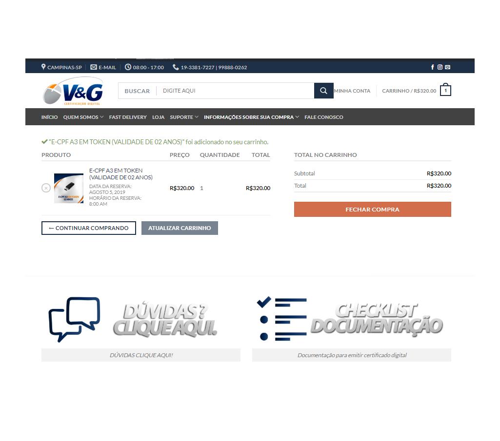 comprar certificado digital online
